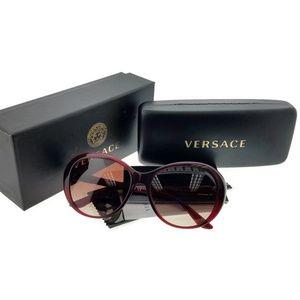 VE4324BA-109-13 Women's Bordeaux Frame Sunglasses
